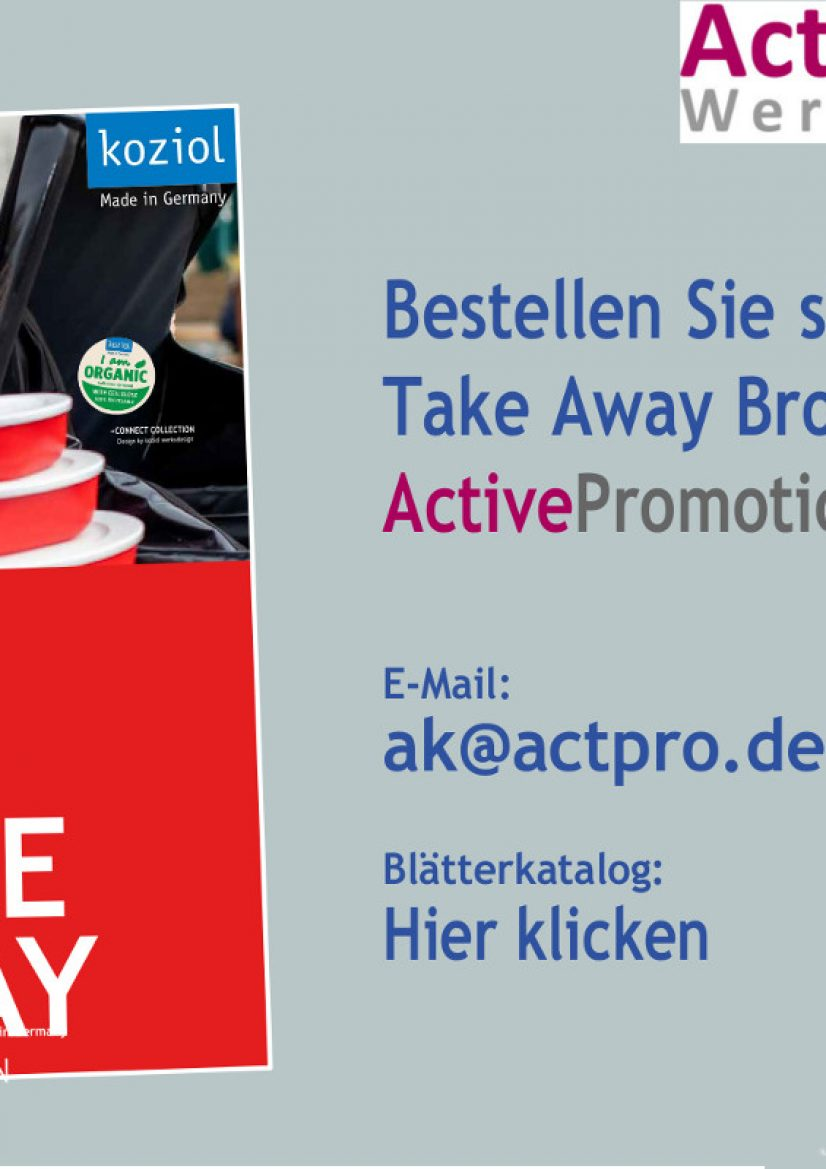 Take Away Active promotion